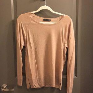 Zara long sleeve knitted shirt.